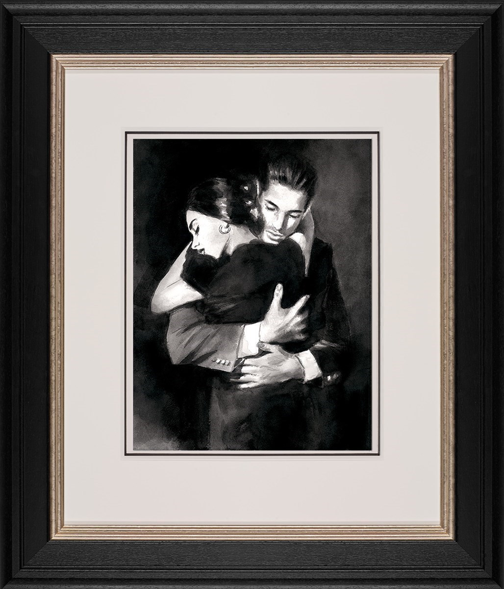 The Embrace II by Fabian Perez - Limited Edition on Paper sized 16x12 inches. Available from Whitewall Galleries